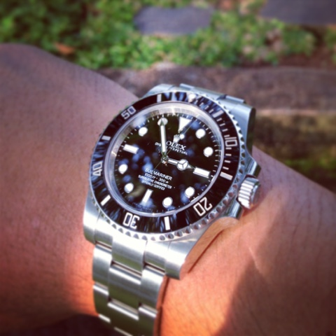 GRACIE HOUR (N/A) Rolex Submariner No Date Ceramic