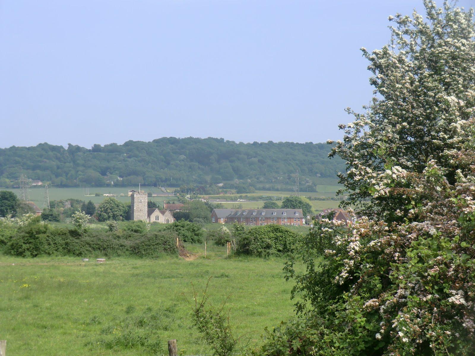 CIMG4446 Wouldham from Halling Fresh Marsh