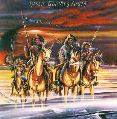 Baker Gurvitz Army ~ 1974 ~ Baker Gurvitz Army