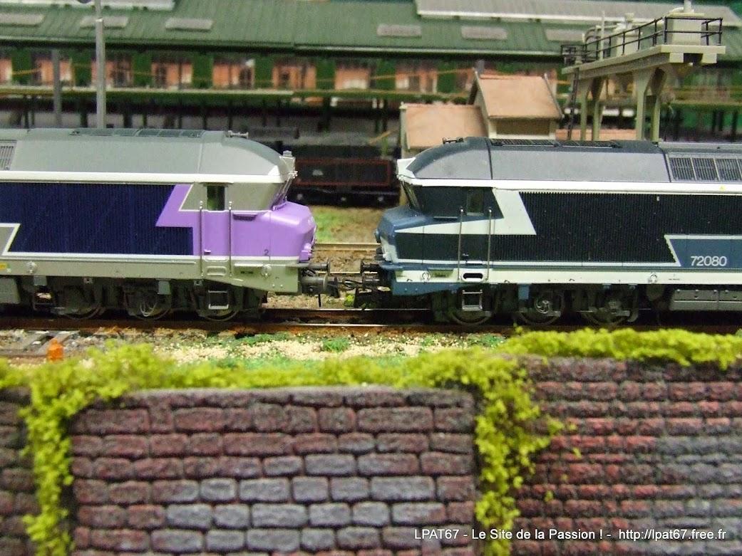 """Une nouvelle locomotive dans mon parc : la CC 172058 """" en voyage """" de Roco DSCF9796"""