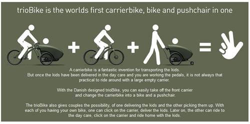 Ada 3 kelebihan yang ditawarkan oleh Trio Bike