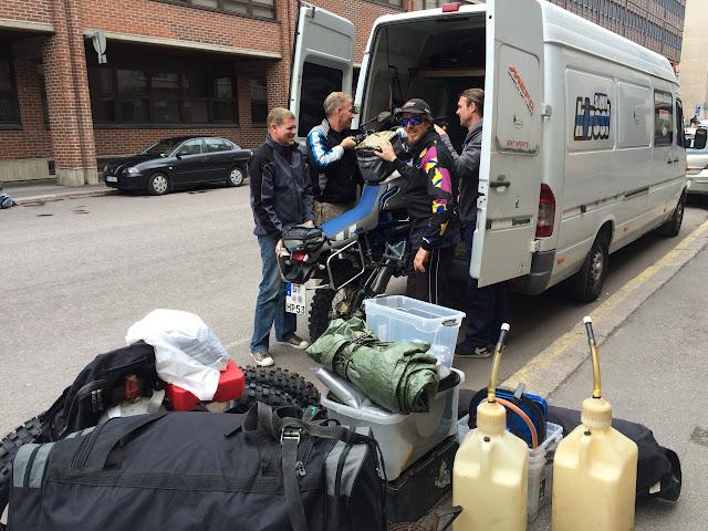 Vorbereitung zur EnduroBoxer Tour 2015