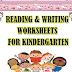 READING AND WRITING WORKSHEETS FOR PRIMARY STUDENTS..