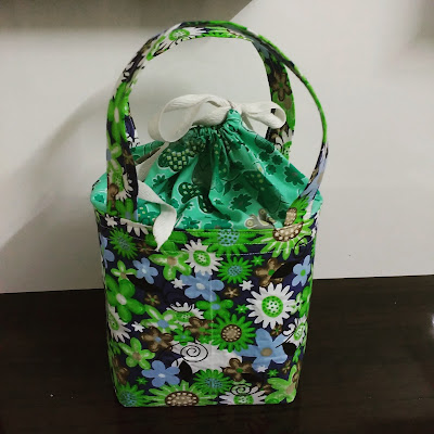 drawstring lunch box bag free pattern