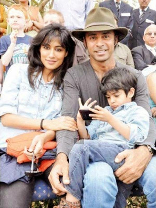 Zorawar - son of Chitrangda Singh and golfer Jyoti Singh Randhawa clicked in happeir times when his parents were together.