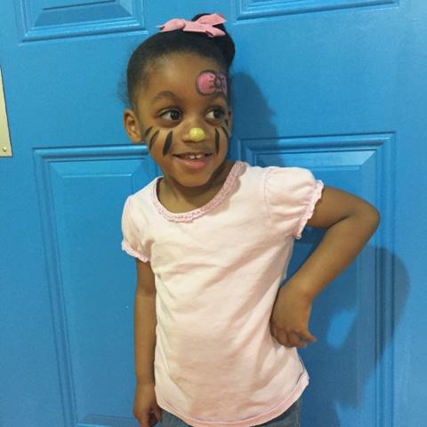 Hippo hop atlanta georgia birthday party pretty little black girl magic top mom mommy motherhood blogger