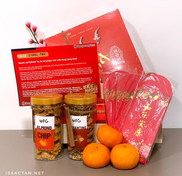 Goodies from Hong Leong Bank Malaysia