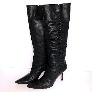 Jimmy Choo Ruched Boots