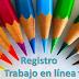 REGISTRO DE TRABAJO EN LINEA