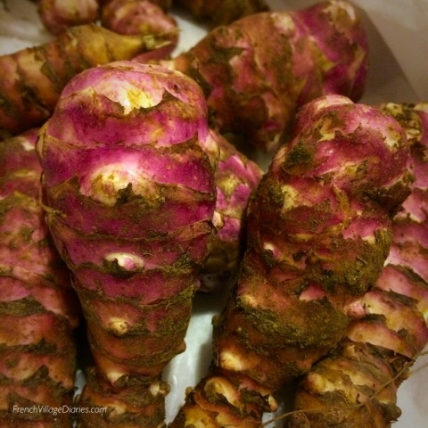 French Village Diaries Celebrating the Good Times Jerusalem artichokes