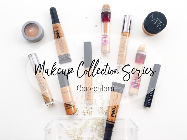 makeup collection series, ummbabybeauty makeup collection, concealer collection, best concealers for oily skin
