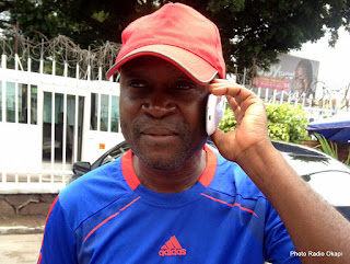 Entraineur de MK, Bruno Bla. Photo Radio Okapi/ Nana Mbala