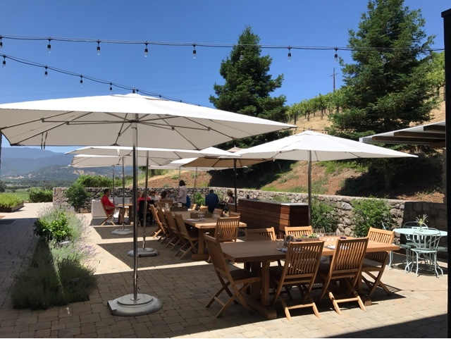 Robert Sinskey Vineyards Tasting Terrace