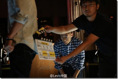 Shawn Yue X Levi's - Lunar New Year 2016 Behind the Scene 02