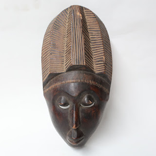 Hand Carved Tribal Mask