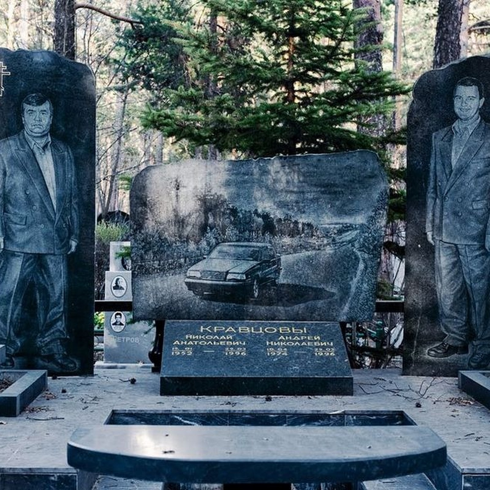 The Russian Gangster Cemetery in Yekaterinburg