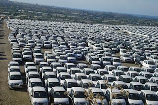 Importation de véhicules: un quota de 152 000 attend le feu vert