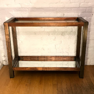 Copper Bar/Console Table