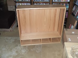 40″ x 36″ x 12″ Hutch in Natural Oak