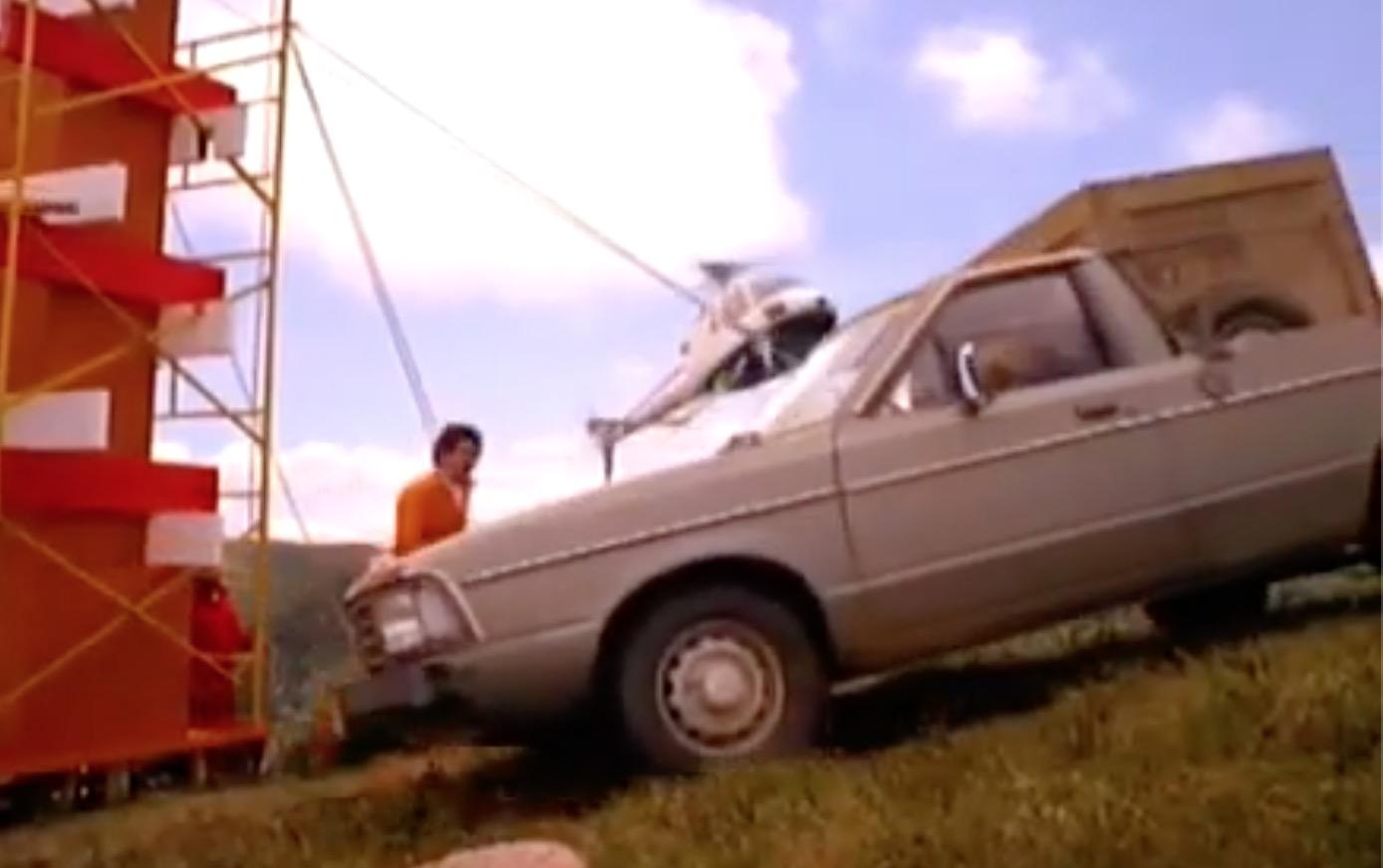 Campanha da Ford apresentando o modelo 4x4 da Pampa no ano de 1984