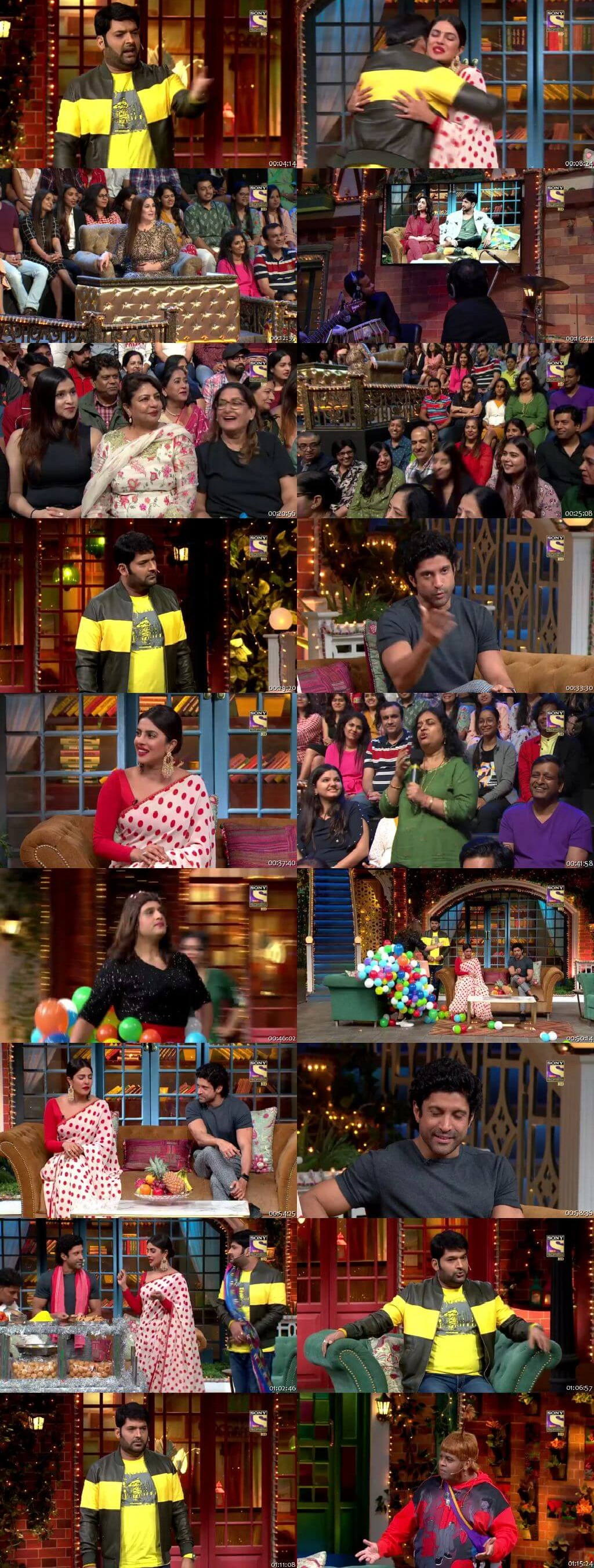 Screen Shot Of The Kapil Sharma Show 5th October 2019 Episode 80 300MB Watch Online
