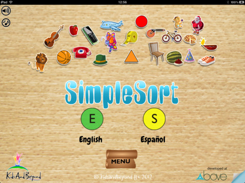 SimpleSort Main Page