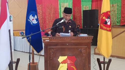 Gubernur Sumbar Beri Kuliah Umum di UMMY Solok, Ungkap Sejumlah Tantangan