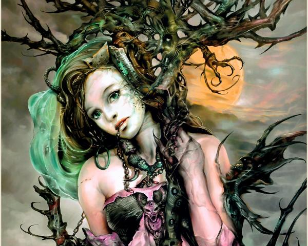 Magic Tree Girl, Green Witches