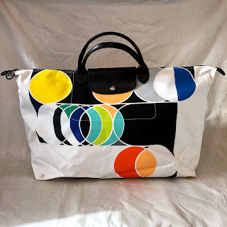 Sarah Morris x Longchamp Le Pliage Bag