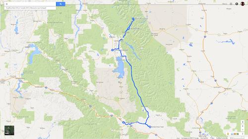 09 Roadtrip West VS en Canada 2014, Missoula naar Kalispell.png