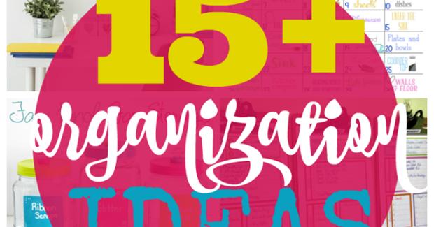 Ginger Snap Crafts 15 Organization Ideas