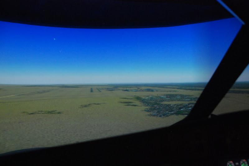 At the Turkish Airlines flight training simulator, Istanbul