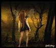 Dark Fairy In Forrest