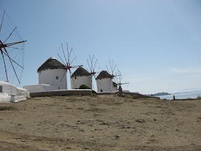 Photo: Mykinos windmills
