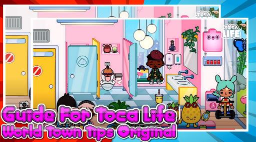 دليل للحصول على لقطات شاشة T0CA LIFE World Town Tips pro 2