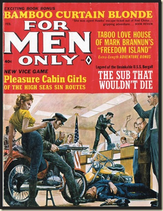 FOR MEN ONLY - 1966 02 Feb - Mort Kunstler cover bb