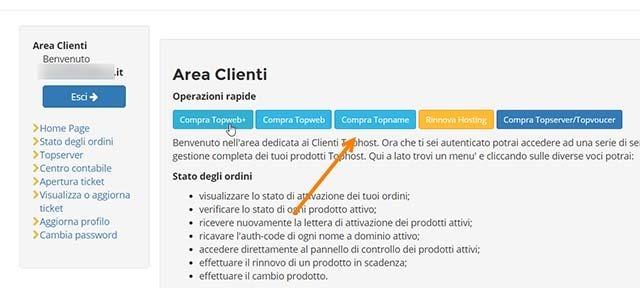 area-clienti-tophost