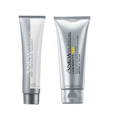 Avon Anew Clinical Body Treatments