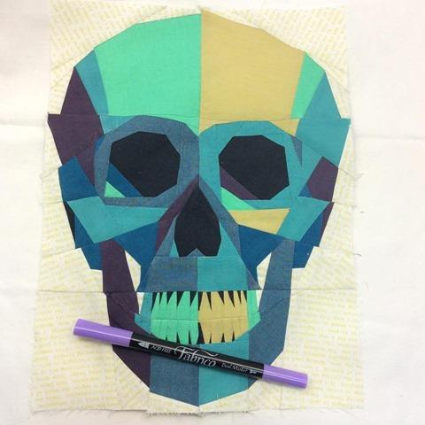 skull final step