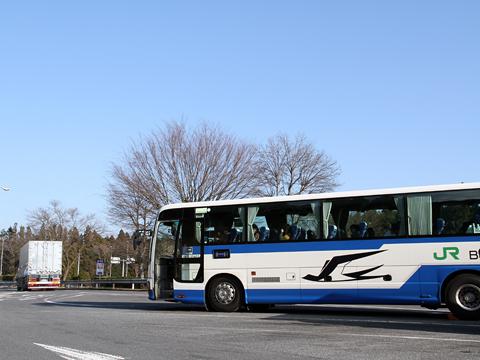 JRバス東北「仙台・新宿3号」 1154 黒磯PAにて