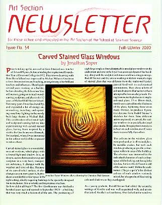 Art Section Newsletter