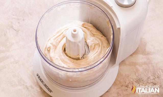 frozen banana ice cream in food processor
