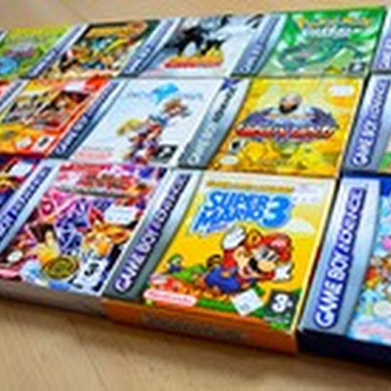 Pack with 1100 gba roms - Old Cartridges