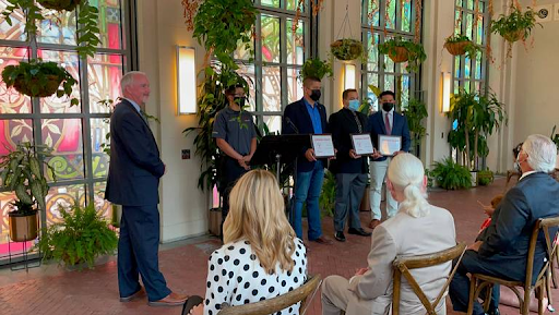 MedStar recognizes Sundance Square security officers who saved downtown shooting victim