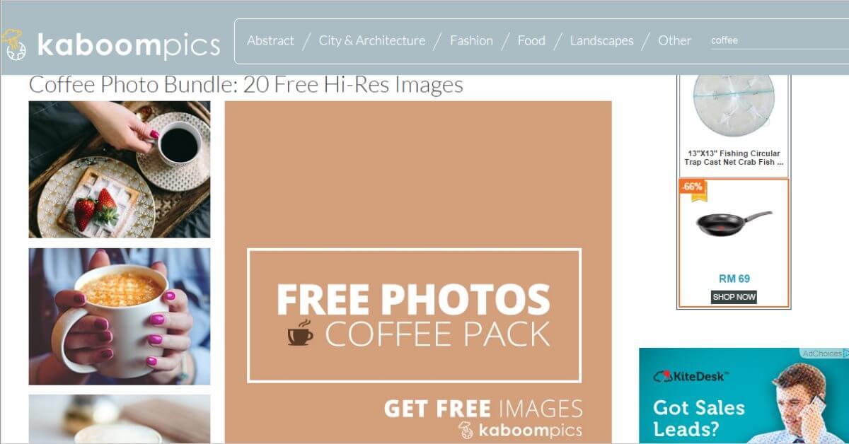 Gambar Percuma Untuk Blog WordPress Dari Kaboom Pics