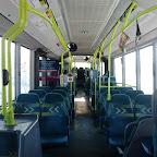 het interieur van de Mercedes Citaro van Connexxion bus 9111