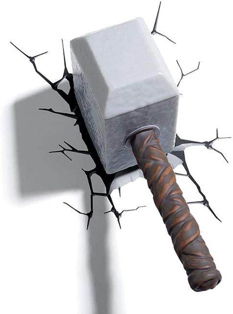Thor's Sledgehammer 3D Night Wall lamp