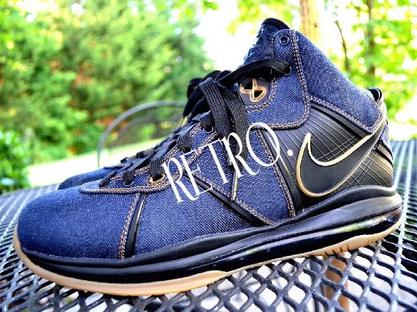 Nike Air Max LeBron VIII 8220Denim8221 8211 Another Unreleased Sample