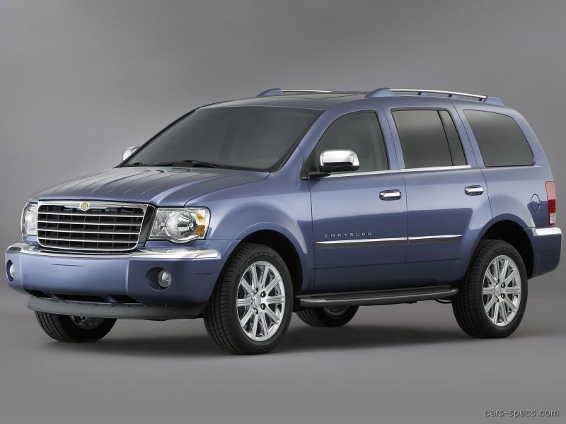 2007 chrysler aspen suv specifications pictures prices. Black Bedroom Furniture Sets. Home Design Ideas
