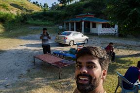Tea stop at Mid Mount Malang Zada hotel